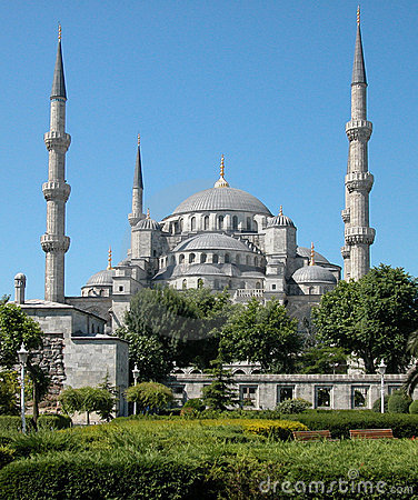The Blue Mosque. Istanbul, Turkey