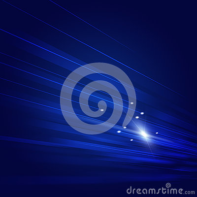 Blue Motion Tech Background