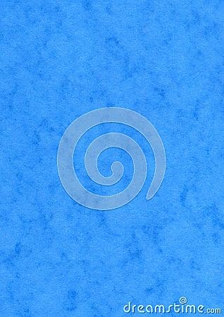 Blue Mottled Effect Blank Paper Background