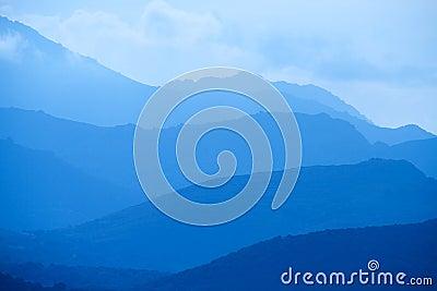 Blue Mountains of Corsica