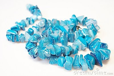 Blue necklace 01