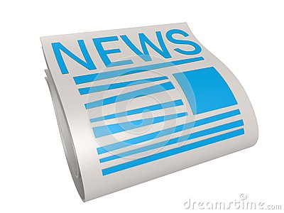 Blue new paper