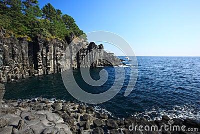 Blue Ocean,Jeju Volcanic Island
