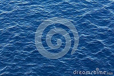 Blue ocean water texture