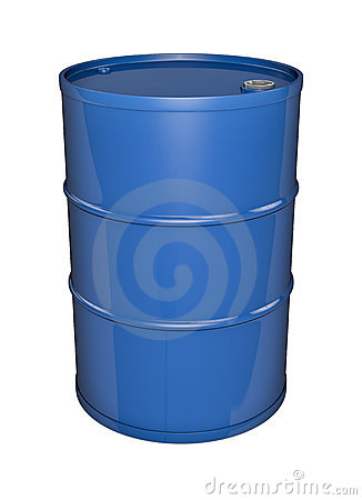 Free Blue Oil Drum Royalty Free Stock Images - 18094379