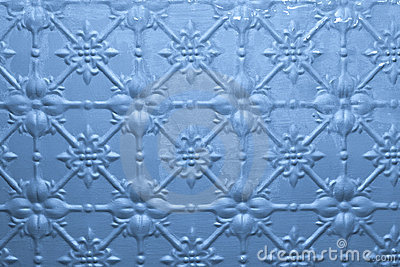 Blue Painted Metal Background Stock Photos - Image: 20154903