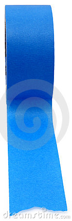 Free Blue Painters Tape Royalty Free Stock Image - 7774916