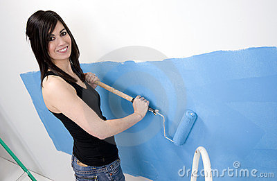 Blue Painting Stock Photo - Image: 23665240