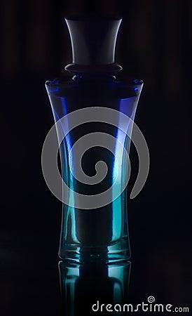 Blue parfume Stock Photo