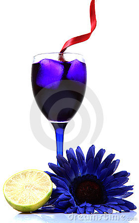Free Blue Party Drink Royalty Free Stock Photo - 16958405