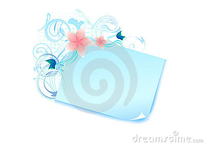 Blue pastel banner