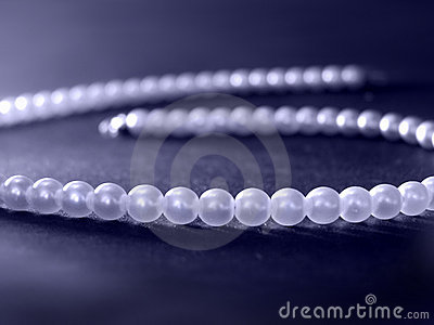 Blue pearls