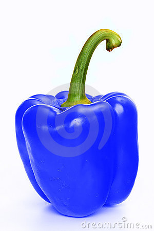 Free Blue Pepper Royalty Free Stock Photo - 13675605