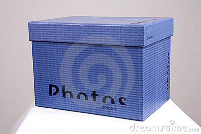 Blue Photos box