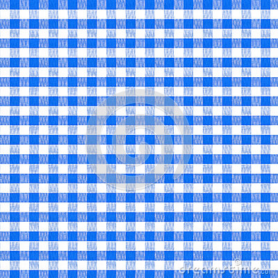 Blue picnic tablecloth seamless pattern