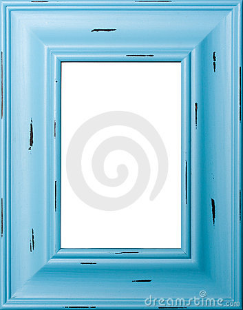 Free Blue Picture Frame Royalty Free Stock Photo - 8524465