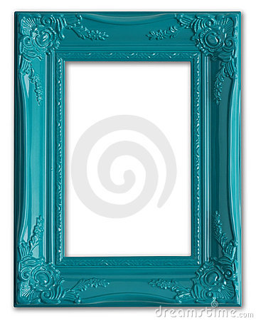 Free Blue Picture Frame Stock Photo - 9383380