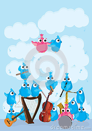 Blue Pink Birds Instrument_eps
