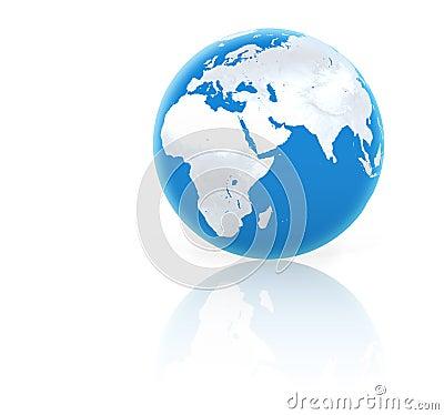 Free Blue Planet Royalty Free Stock Photo - 464835
