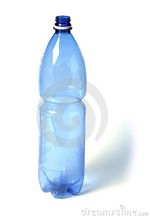 Free Blue Plastic Bottle Royalty Free Stock Images - 2646199