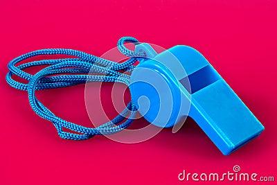 Blue  whistle