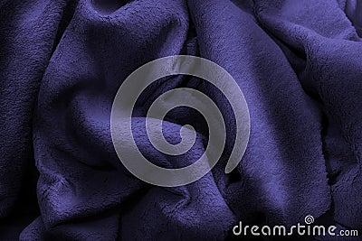Blue polar fleece blanket luxury