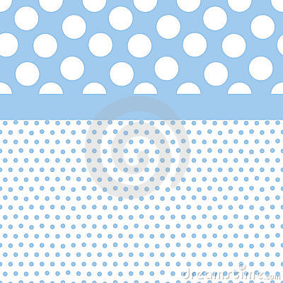 Free Blue Polka Dots Background Royalty Free Stock Photo - 6061085