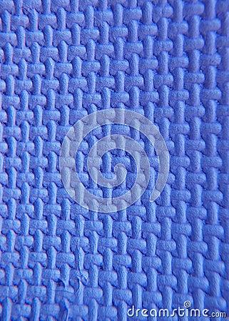 Blue polystyrene foam
