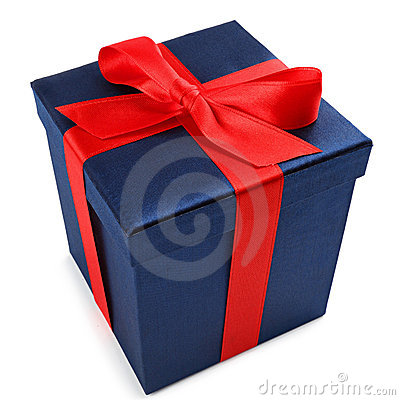 Free Blue Present 1 Stock Photography - 21882982
