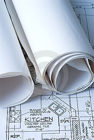 Blue Prints of New Home