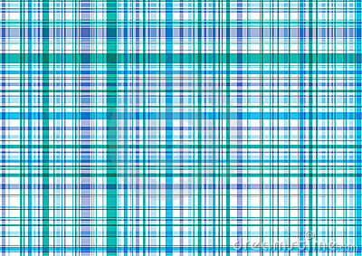 Blue and purple plaid pattern