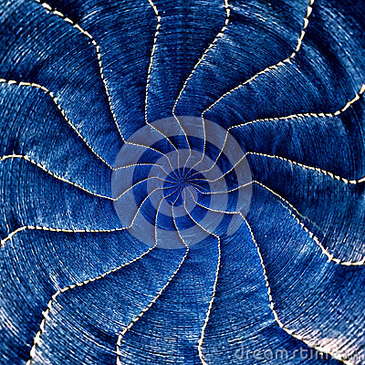 Free Blue Radial Spiral Abstract Star Pattern Part 2 Royalty Free Stock Photo - 43791575