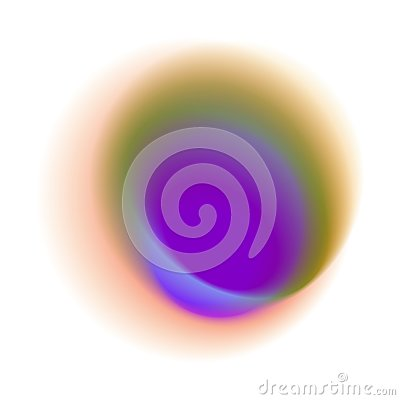 Free Blue Radial Spot With Round Peacock Colored Texture. Purple Grad Royalty Free Stock Photography - 107659007