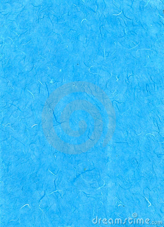 Blue recycled paper