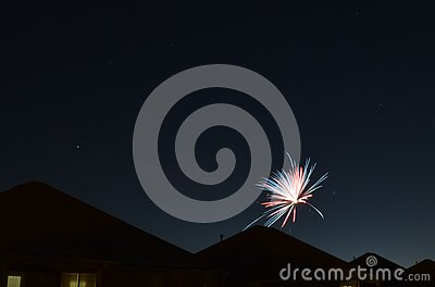 Blue Red Fireworks Free Public Domain Cc0 Image
