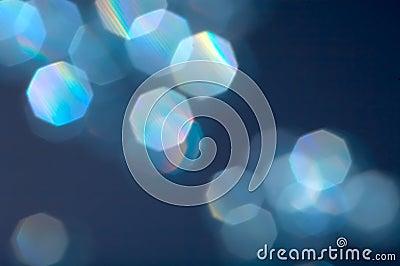 Blue reflexions