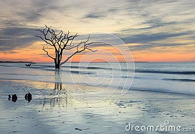 Blue Reverence Charleston SC Ocean Sunrise