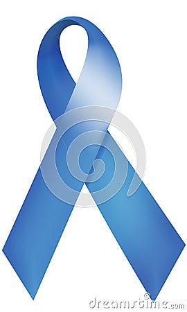 Free Blue Ribbon Royalty Free Stock Photography - 3249457