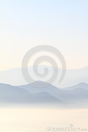 Blue Ridge Mountains Royalty Free Stock Photos - Image: 25244828