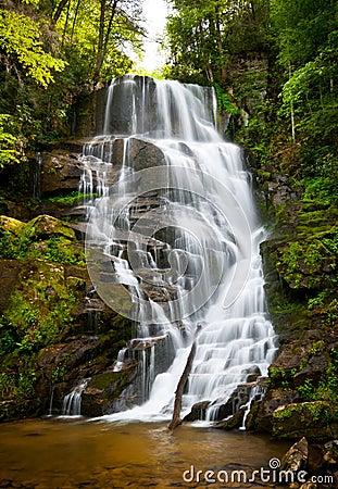 Blue Ridge Mountains Waterfall Landscape NC