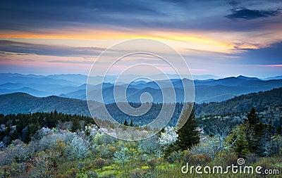 Blue Ridge Parkway Spring Smoky Mountains