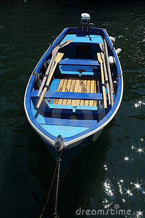Free Blue Row Boat Stock Images - 941604