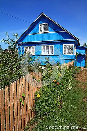 Free Blue Rural House Stock Photos - 15613743