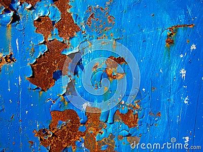 Blue Rust Texture