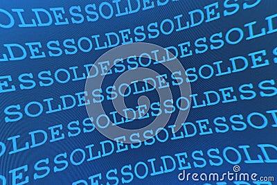 Blue sales pattern