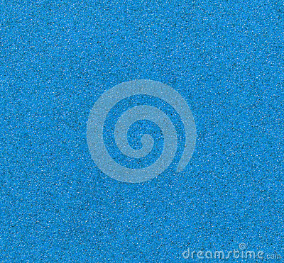 Blue sandpaper