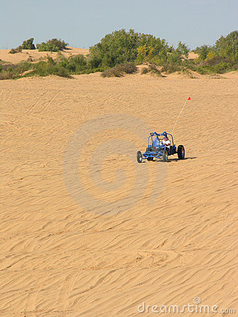 Free Blue Sandrail At Little Sahara Stock Images - 301344