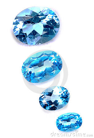 Free Blue Saphires Stock Images - 10512444