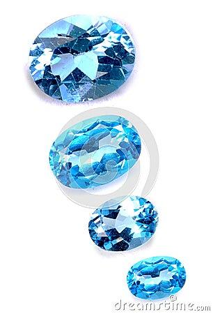 Blue saphires