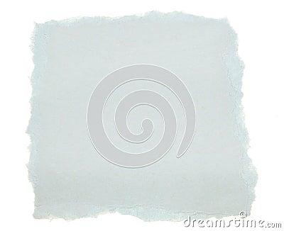Blue Scrap Paper